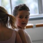 Capella's ballet in our dance studio